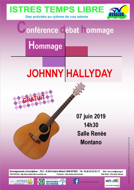 Conference hommage a johnny