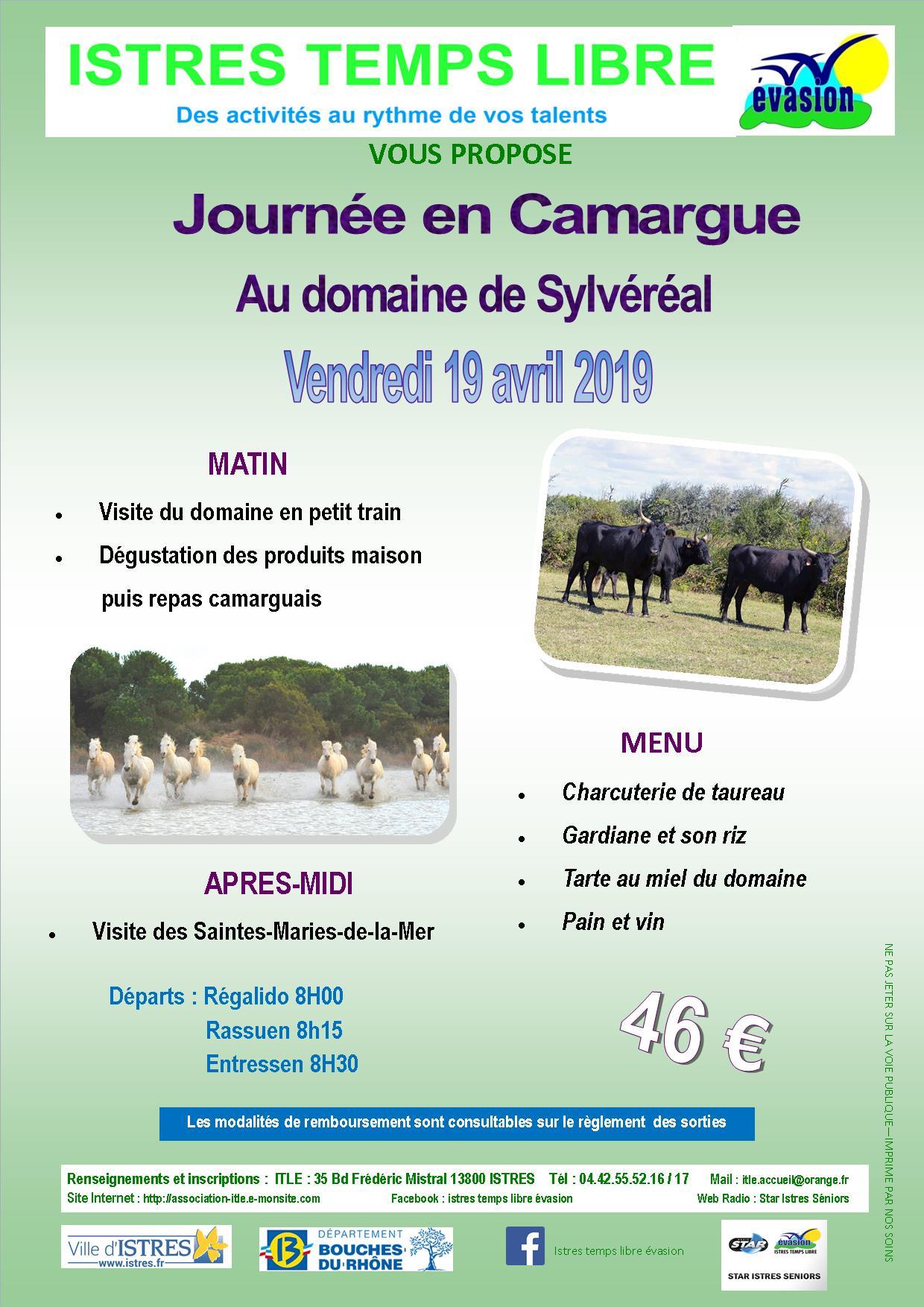 Journee en camargue 19 04 2019