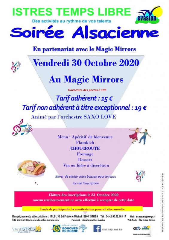 Soiree alsacienne 30 10 2021