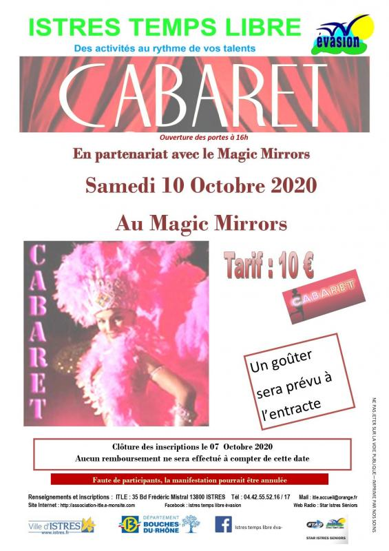 Spectacle cabaret clair modifie